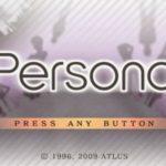 Shin Megami Tensei Persona PSP ISO