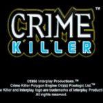 Crime Killer PS1 ISO