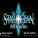 Star Ocean First Departure PSP ISO