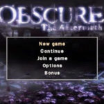 Obscure The Aftermath PSP ISO