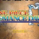 One Piece Romance Dawn PSP ISO