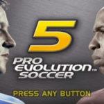 Pro Evolution Soccer 5 PSP ISO