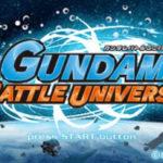 Gundam Battle Universe PSP ISO