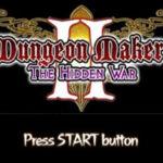 Dungeon Maker The Hidden War PSP ISO