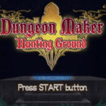 Dungeon Maker Hunting Ground PSP ISO