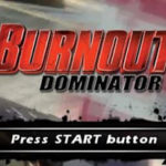 Burnout Dominator PSP ISO