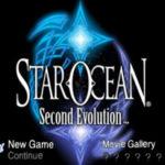Star Ocean Second Evolution PSP ISO