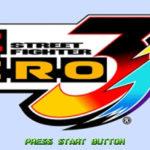Street Fighter Zero 3 PSP ISO