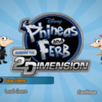 Phineas and Ferb Across The 2nd Dimension PSP ISO