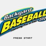 Backyard Baseball 2006 GBA Rom