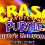 Crash Bandicoot Purple Riptos Rampage GBA Rom