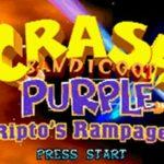 Crash Bandicoot Purple Riptos Rampage GBA Rom