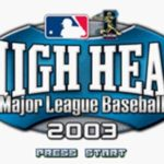 High Heat Major League Baseball 2003 GBA Rom