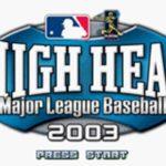 High Heat Major League Baseball 2003 GBA Rom