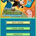 Kim Possible Kimmunicator NDS Rom