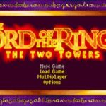 Lord of The Rings The Two Tower GBA Rom