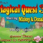 Magical Quest 3 Starring Mickey & Donald GBA Rom
