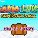 Mario & Luigi Superstar Saga GBA Rom