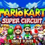 Mario Kart Super Circuit GBA Rom