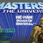 Masters of The Universe He Man Power of Grayskull GBA Rom