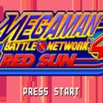 Megaman Battle Network 4 Red Sun GBA Rom