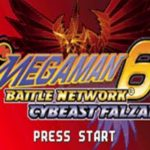 Megaman Battle Network 6 Cybeast Falzar GBA Rom