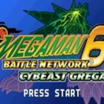 Megaman Battle Network 6 Cybeast Gregar GBA Rom