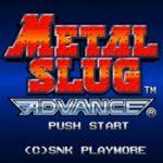 Metal Slug Advance GBA Rom