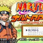 Naruto RPG GBA Rom