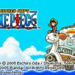 One Piece GBA Rom