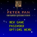Peter Pan The Motion Pitcure Event GBA Rom