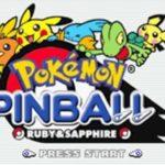 Pokemon Pinball Ruby & Sapphire GBA Rom