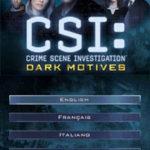 CSI Dark Motives NDS Rom