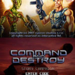 Command and Destroy NDS Rom