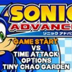 Sonic Advance GBA Rom