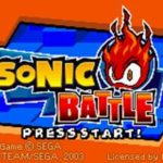 Sonic Battle GBA Rom