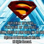 Superman Returns Fortress of Solitude GBA Rom