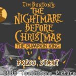 Tim Burtons The Nightmare Before Christmas The Pumpkin King GBA Rom