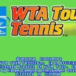 WTA Tour Tennis GBA Rom