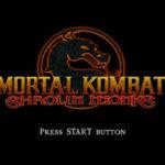 Mortal Kombat Shaolin Monks PS2 ISO