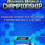 Digimon World Championship NDS Rom