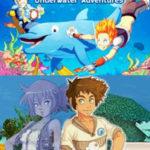 Dolphin Island Underwater Adventures NDS Rom