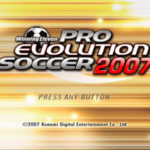 Winning Eleven Pro Evolution Soccer 2007 PS2 ISO