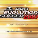 Winning Eleven Pro Evolution Soccer 2007 PS2 ISO