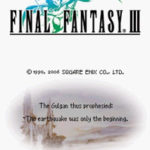 Final Fantasy III NDS Rom