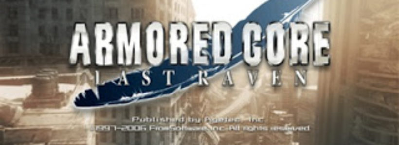 Armored Core Last Raven PS2 ISO