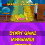 Garfield in Garfields Nightmare NDS Rom