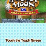 Harvest Moon DS Grand Bazaar NDS Rom