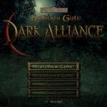 Baldurs Gate Dark Alliance PS2 ISO