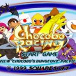 Chocobo Racing (PSX)